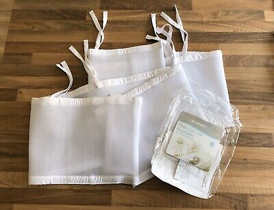 Breathable Baby Mesh Cot Liner Bumper