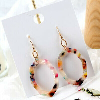 1 Pair Acetate Acrylic Charms Jewelry Making Accessory For Necklace Pendant