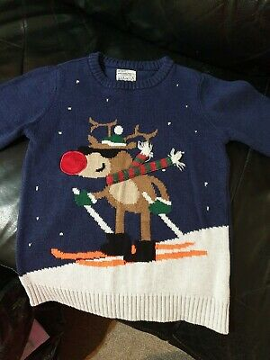 Boys Christmas Jumper From Next