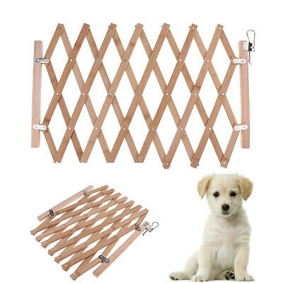 Baby Gate Safety Fence Child Protection Wood Door Dog Cat Guard Pet Barrier