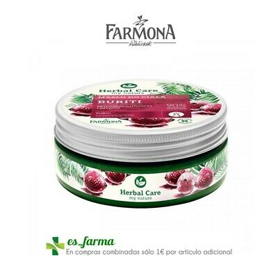 Farmona Herbal Care Crema Corporal Hidratante Nutritiva Buriti 200Ml Body Butter