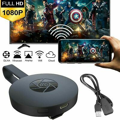 Wireless HD1080P WIFI Display Dongle Adapter HDMI Miracast DLNA AirPlay TV Stick