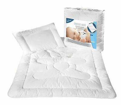 Children Kids Anti-Allergy Duvet with Pillow Set for Crib Cot or Junior Bed