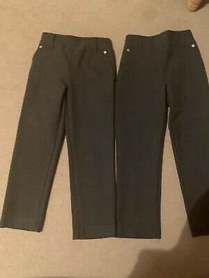 John Lewis Girls Grey Trousers Age 5. Great Condition