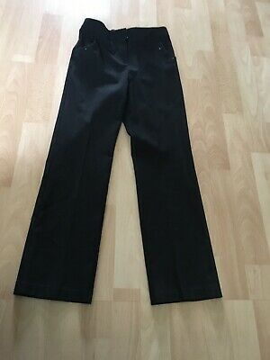 Girls Black School Trousers Age 9-10 From George