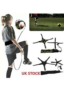 Kick Football Practice Train Aid Solo Soccer Trainer Return Accessory Belt