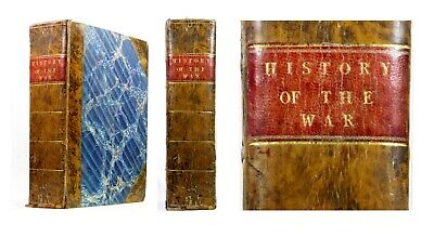 1817 Old Antique 19th Century History of the Wars French Revolution Baines 2Vols