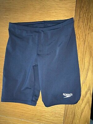 Speedo Endurance+ Swim Shorts Youngster Boys Navy Blue Size 8 Years