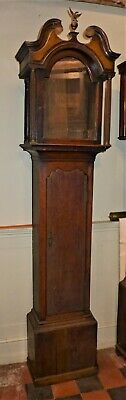 18th Cent Oak Longcase Clock Case