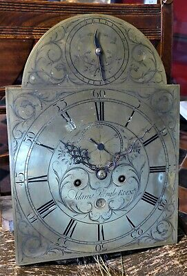 Georgian 8 Day Longcase Clock Movement