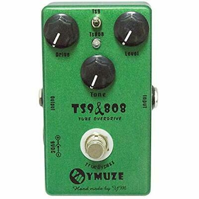 Hand-made TS9 TS808 Tube Overdrive Guitar Effect Pedal True Bypass Musical