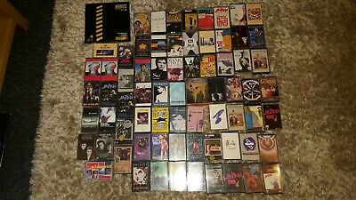 Joblot/Collection Of 72 Cassette Tapes Japan,Doors,Tears For Fears,Depeche Mode