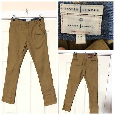 Jasper Conran Beige Chinos Age 10 Years Boys Excellent Condition Worn Once (A795