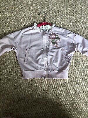 Monnalisa Pink Flower Outfit Jacket Aged 4
