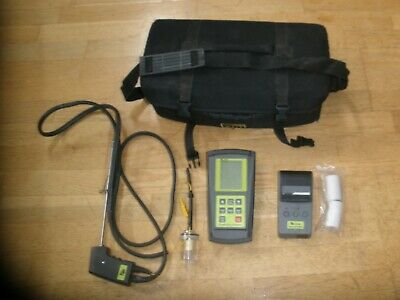 Tpi 709 Combustion Analyzer W/A740 Infrared Printer