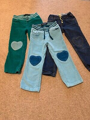 Girls Mini Boden Trouser Bundle Age 4