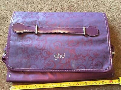 GHD Carry Case Mat, Heat Resistant, Straighteners Pouch Travel Bag. Ex Condit