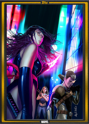 TOPPS MARVEL COLLECT Comic Book Day Fallen Angels #1 Digital Card
