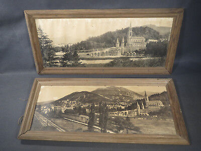Pairs of Frames Antique Wooden Vintage Illustrations Lourdes Old Photo Frames