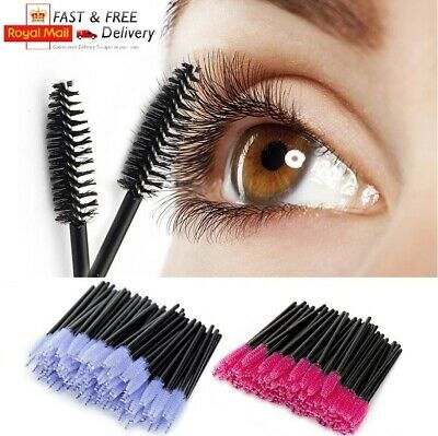 Disposable Mascara Eyelash Eyebrow Wands Multi Brushes Lash Extension Aplicator