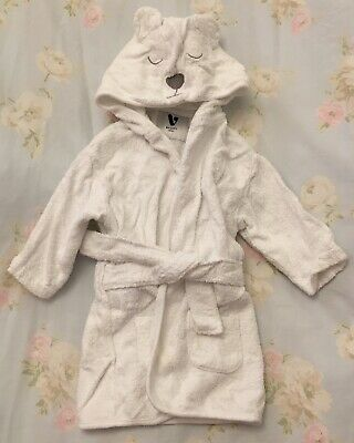 V By Very Mini Baby Dressing Gown Age 6-9 Months