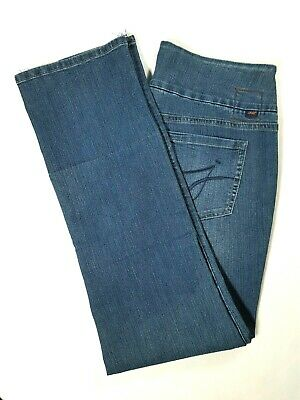 JAG Jeans Penny Straight Leg Pull-On Jeans Womens Size 8 Blue