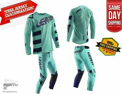 Leatt GPX 5.5 KIT Gear Combo Aqua MX Motocross Dirtbike ATV/UTV OffRoad SameDay