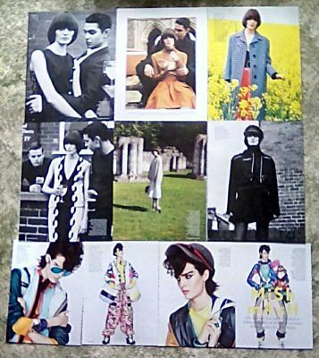 * Supermodel Sam Rollinson Clippings Pack 35 Pg Vogue Miss Vogue Photoshoots + *
