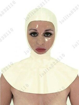 3651 Latex Rubber Gummi Nun convent Mask Hood customized catsuit costume 0.4mm
