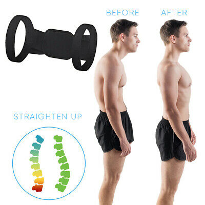POSTURE CORRECTOR For Women Men Back Support Upper Shoulder Brace Straightener