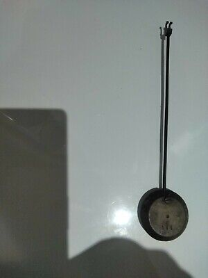 Antique French ?Brass Clock Pendulum 1 ,1/4 By 1 ,1/4Ins