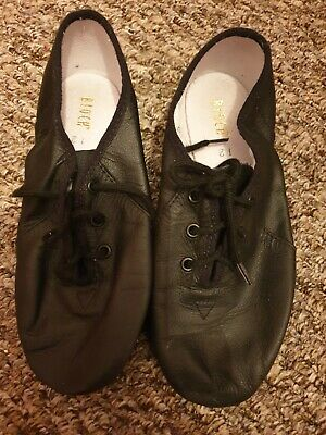 bloch jazz shoes black size 12