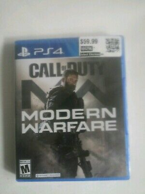 Call of Duty: Modern Warfare (PlayStation 4 , 2019)