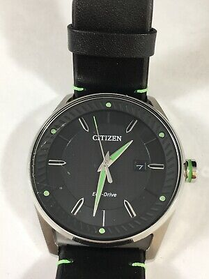 Drive from Citizen Eco-Drive Men's CTO Leather Watch - BM6980-08E (MSRP $195.00)
