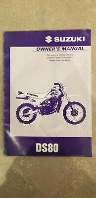 1997 Suzuki Ds80 V Owners Manual 99011-03455-03A