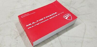 Ducati Multistrada 1200S Touring French Owners Manual 91371751F