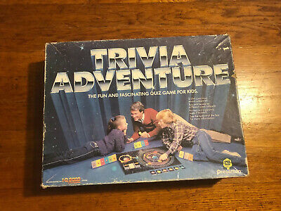 Board Game Trivia Adventure- Complete Vintage from Pressman New 1983