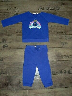 Juicy Couture girls tracksuit size 6-12 months