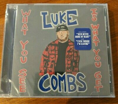 Luke Combs, What You See Is What You Get [New CD, 2019]. FREE SHIP. BEST PRICE.