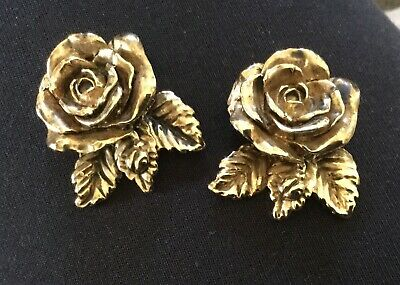 Gold Plated Flower Trinkets