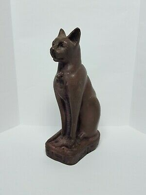 Ancient Egypt Egyptian Antiques Gods Bastet Cat Ubasti Pharaoh Carved Stone