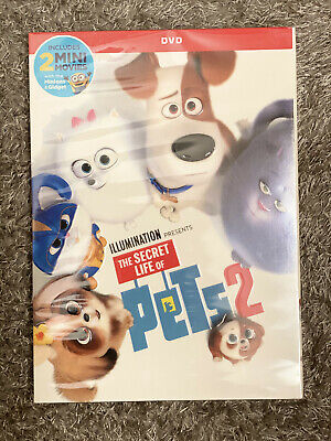 The Secret Life Of Pets 2 Dvd Free First Class Shipping Kevin Hart