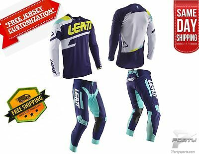 Leatt GPX 4.5 kit Gear Combo Lite Blu MX Motocross Dirtbike ATV/UTV OffRoad