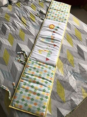 Cot Bed Mothercare Bumper
