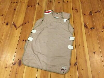 WARDRAY Dental X-Ray Protection Apron BRITISH ARMY 0.50mm + 0.25MM Pb Lead Vest