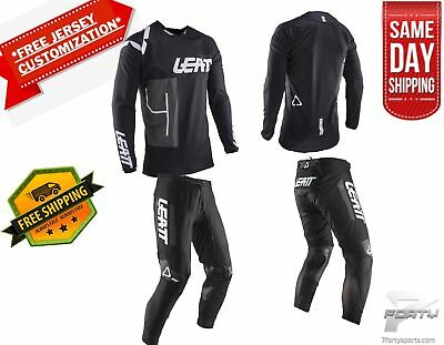 Leatt GPX 4.5 Gear Combo Black MX Motocross Dirtbike ATV/UTV OffRoad SameDay