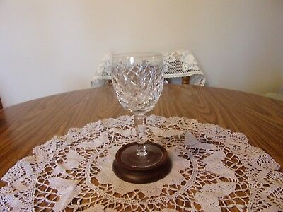 "Waterford Donegal 6 7/8"" Goblet Signed"