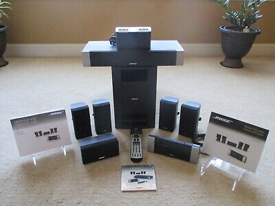 Bose Lifestyle V20 HDMI Home Theater 5.1 Speaker System Set Surround Sound 1080p