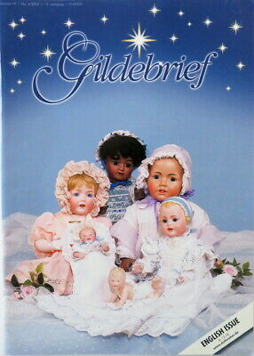 Gildebrief Doll Magazine with pattern sheet English Issue Vol 19 No 5 - 59 Pages