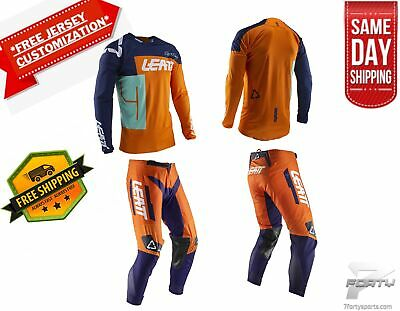 Leatt GPX 4.5 KIT Gear Combo Orange MX Motocross Dirtbike ATV/UTV OffRoad